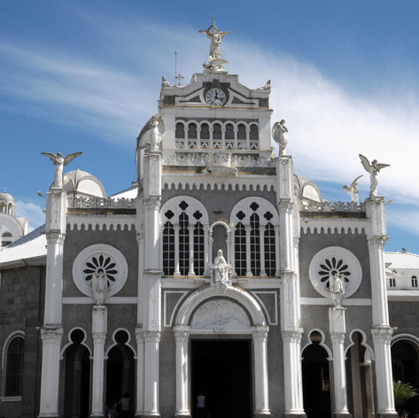 The cathedral Basilica de Nuestra Senora