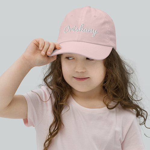 Youth Oriskany Script Baseball Cap