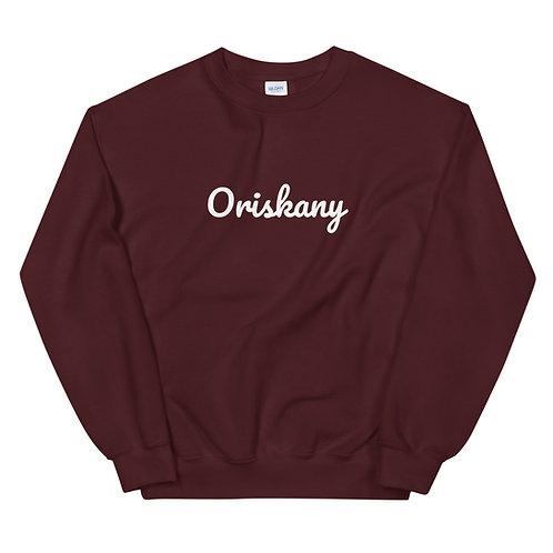 Oriskany Script Sweatshirt