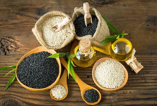 black-white-sesame-seed-seseme-oil-black