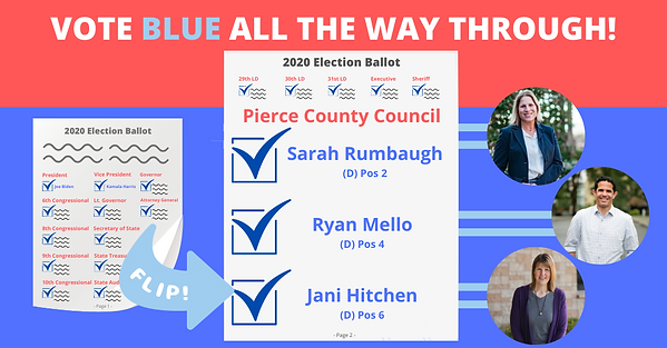 Vote Blue All the Way Through Option 1.p