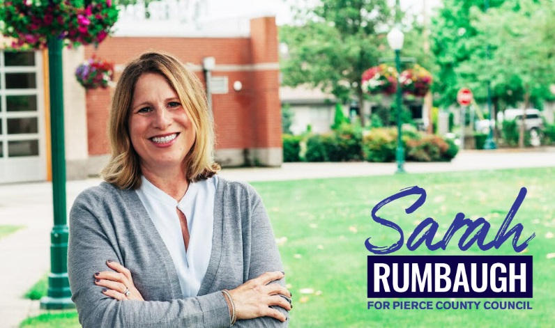 Sarah Rumbaugh for Pierce County Council Position #2