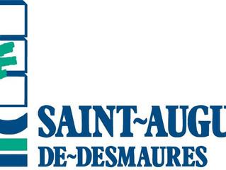 La Ville de Saint-Augustin-de- Desmaures annonce qu'elle met à la disposition des camionneurs des lo