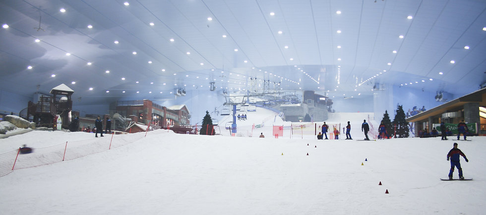 Skilehrer Ausbildung Dubai & Kairo