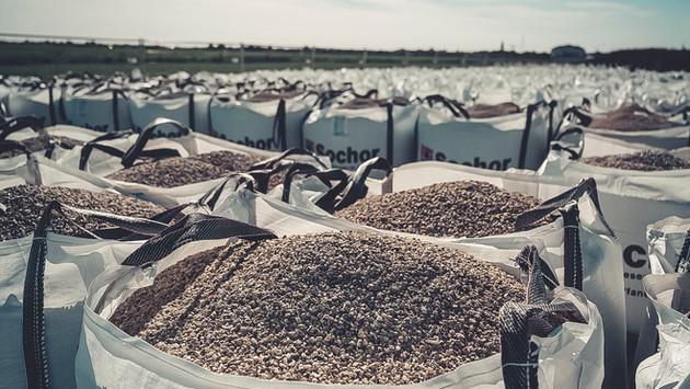 Sandsackherstellung