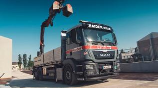 Transport sämtlicher Baustoffmaterialien