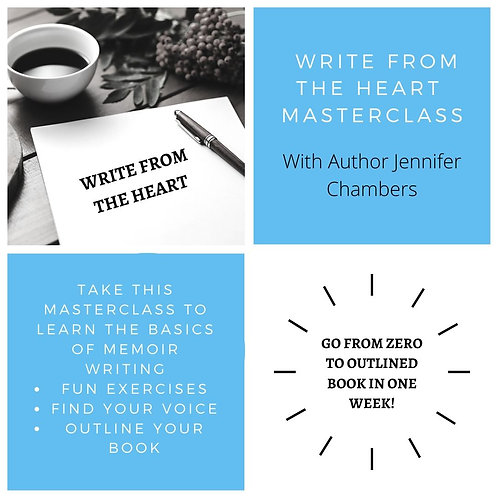 Write From The Heart Masterclass