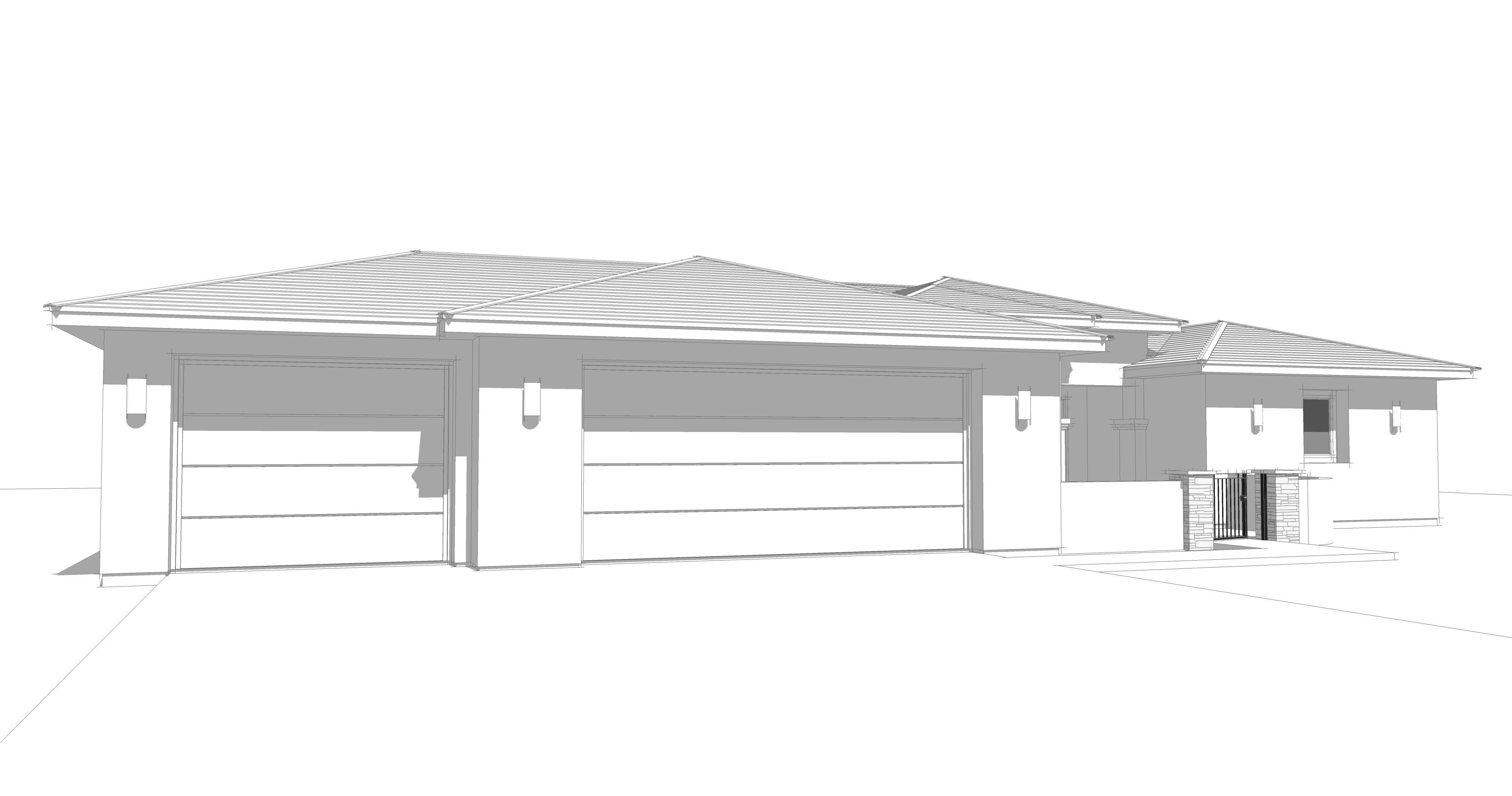 Emerald Garage Model