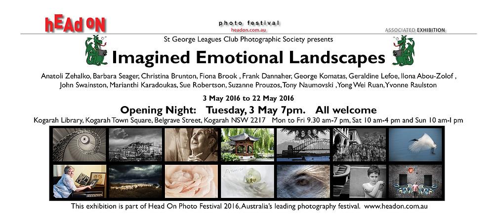 Exhibition flyer (Head On)