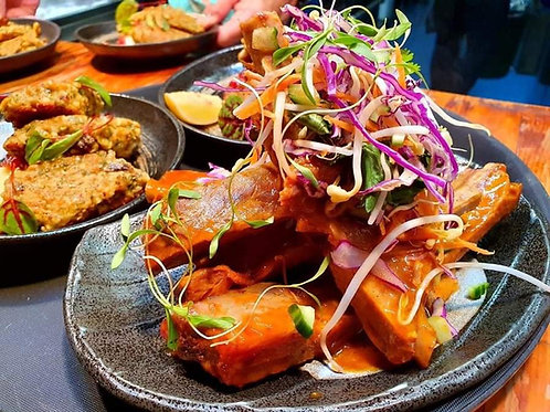 Tuesday Dinner - BBQ pork ribs