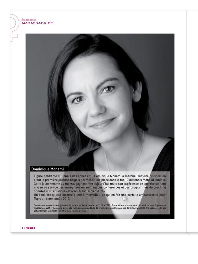 Magazine féminin Pages intérieures