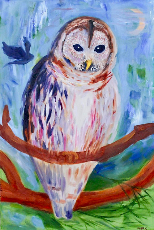 Art Walk Owl