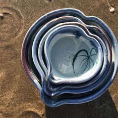 Lovelight - Set of 4 nesting heartbowls