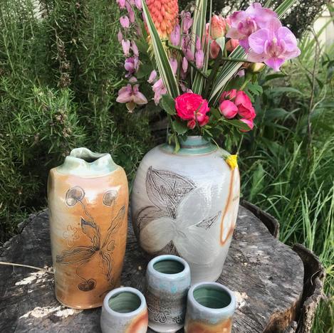 Marys Peak Renewal - Beverage and vase set