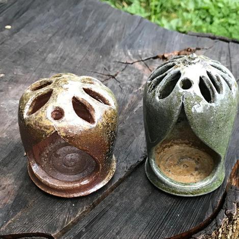 Love - Candleholder Pair
