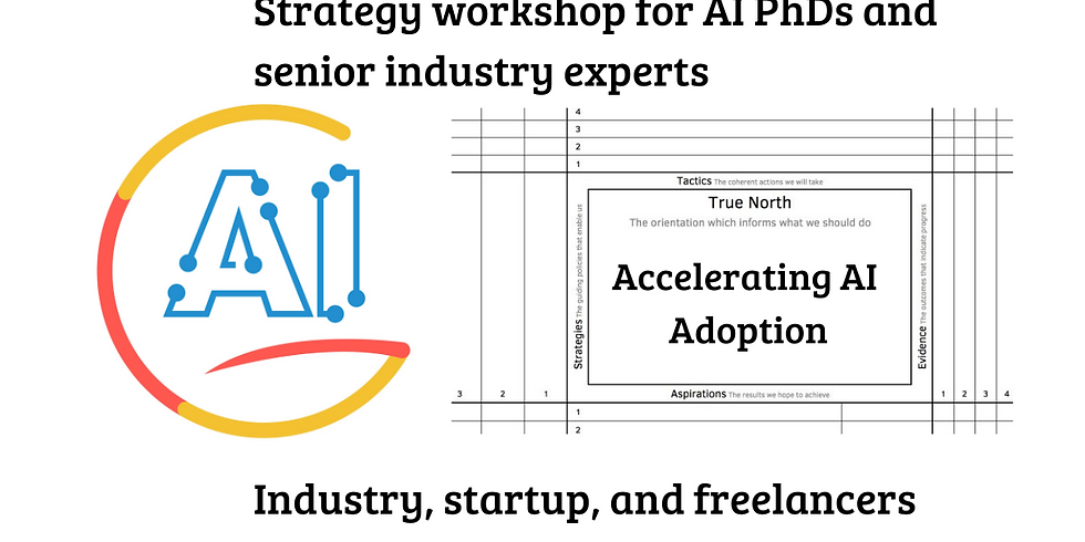 Workshop 'Accelerating AI Adoption' 3 (all seniors & experts)