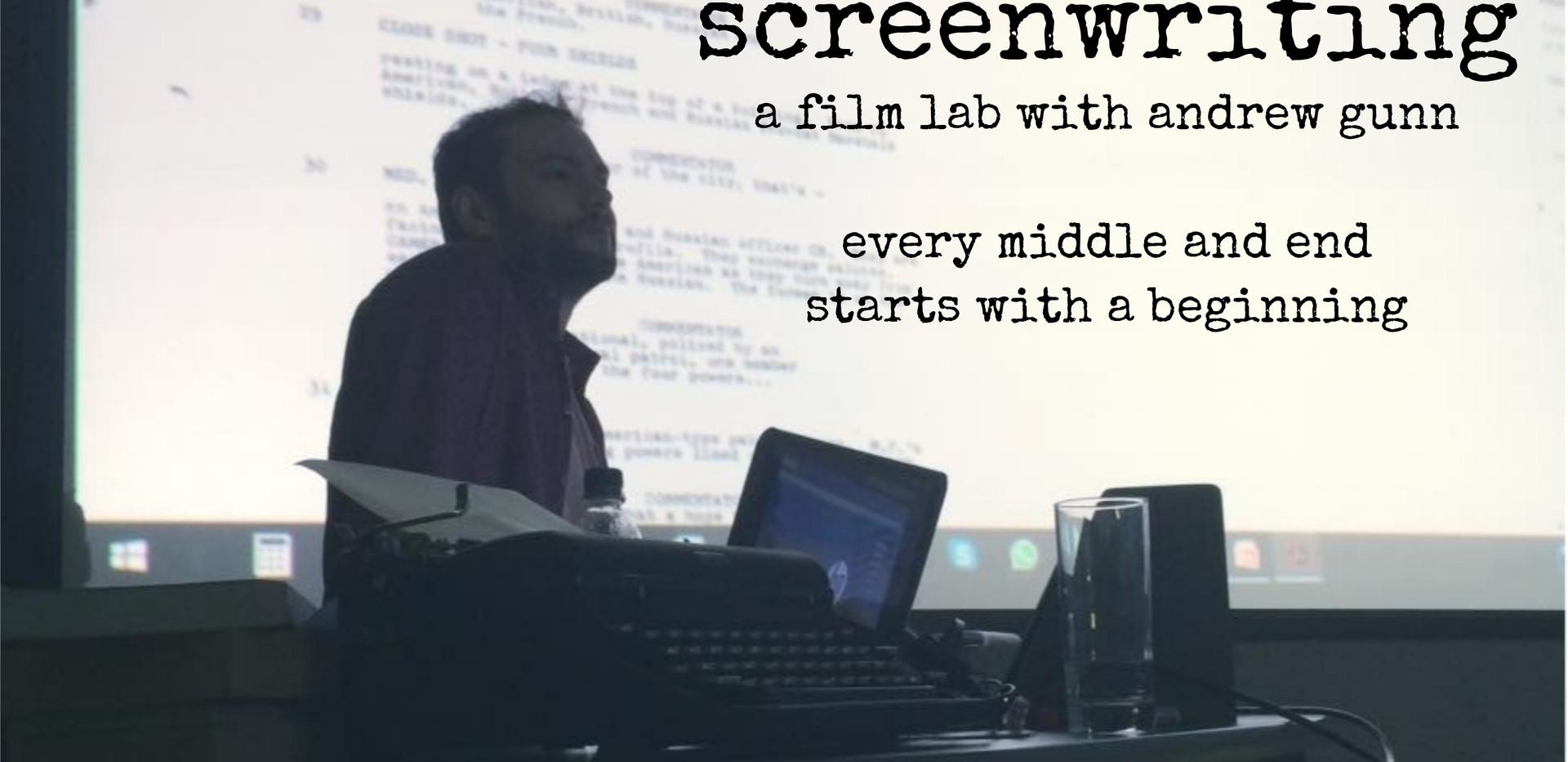 Screenwriting Film Lab