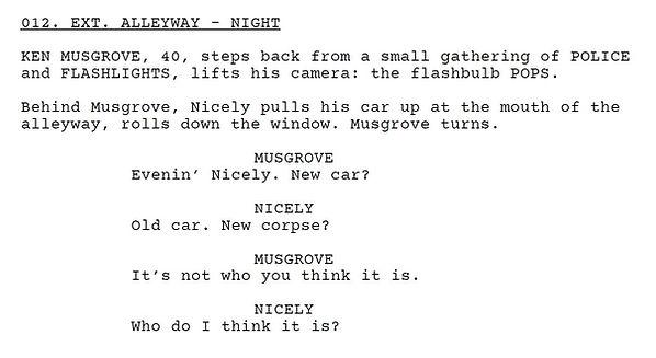 Script extract