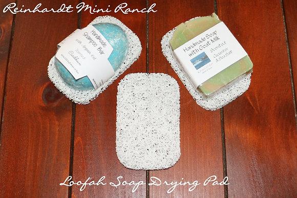Loofah Soap Drying Pad