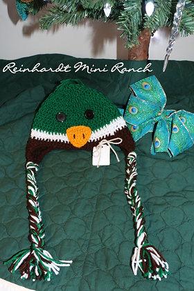 Crocheted Duck Hat