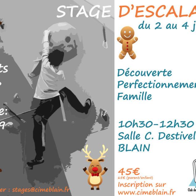 Stage vacances Noël