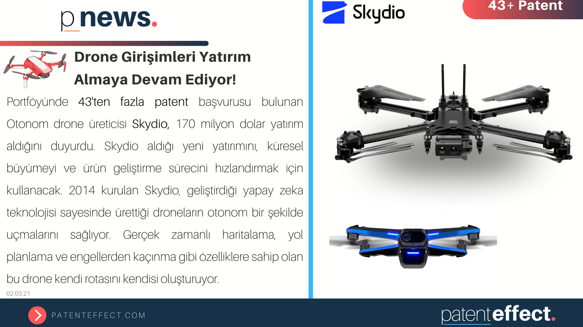 Drone Girişimleri Yatırım Almaya Devam Ediyor!