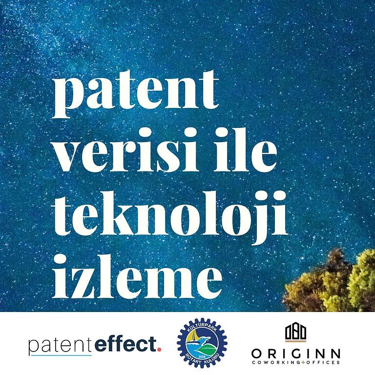 Patent Verisi ile Teknoloji İzleme