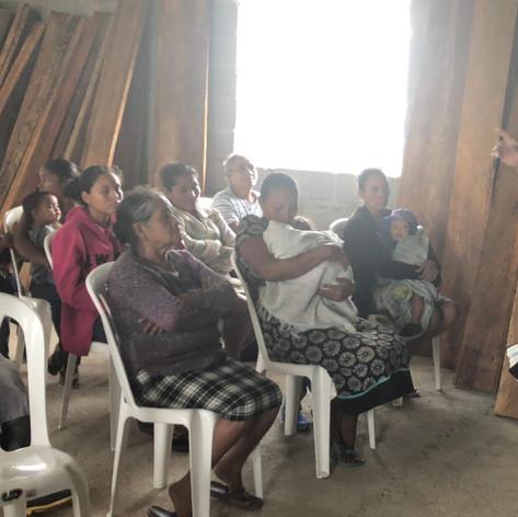 2019 Summer Trip Honduras Pastor Dan Rivera Preaching in Corinth