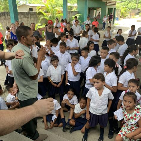 2019 Summer Trip Honduras Kid's Day