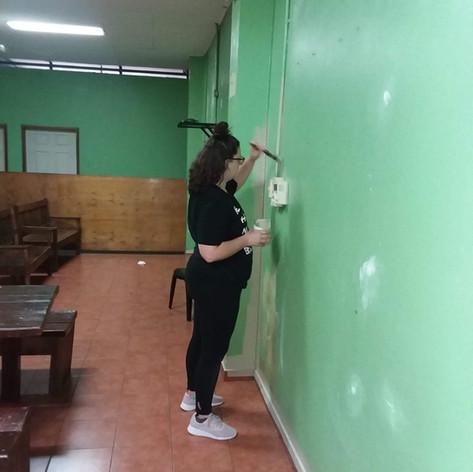2019 Summer Trip Honduras Painting the Orphanage