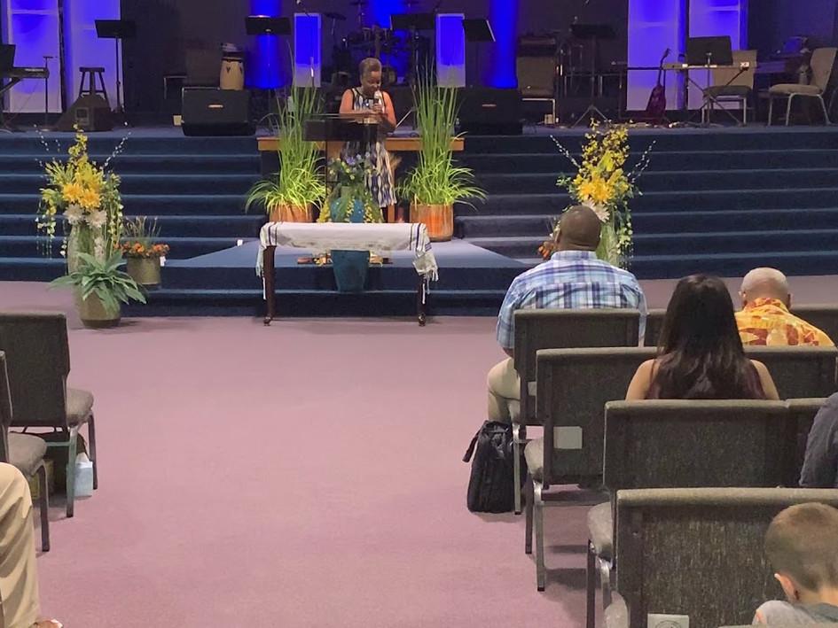 7/28/19 Sunday Service - Darlene Ruffin