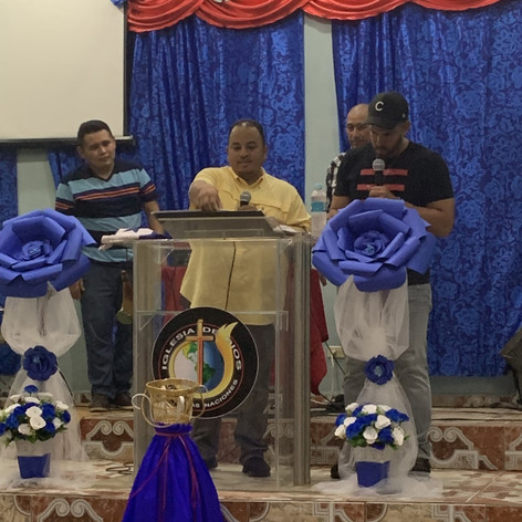 2019 Summer Trip Honduras Pastor Lex Castro Preaching in Guaymetas
