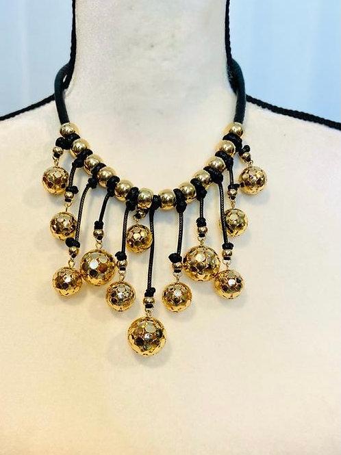 Gold drop balls