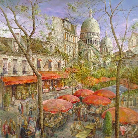 "TREGUER, ZAMI ""Montmartre"""