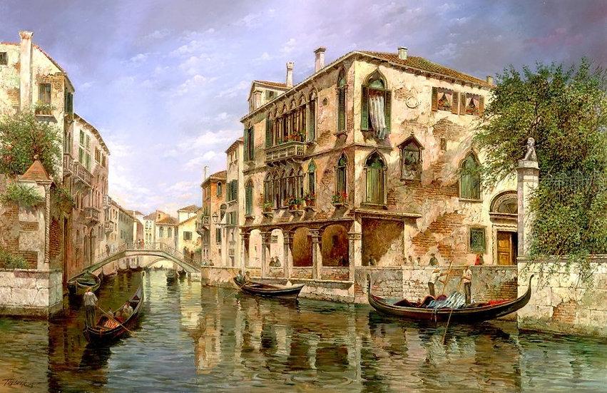 """TREGUER, ZAMI """"Encanto veneciano"""""""