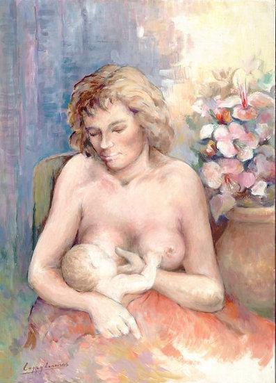 """LÓPEZ LINARES """"Maternidad"""""""