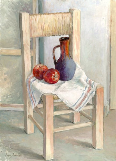 """LÓPEZ LINARES """"Frutas y silla"""""""