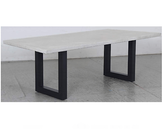 Switch Cement Dining Setting with U Leg 3 pc