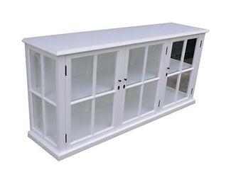 Somerset Sideboard 3 Drs/Temp Glass $1499