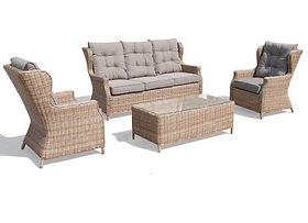 Buenos Aires (GCV1453V-4C) 4Pcs Outdoor Sofa Set online buy qld aus
