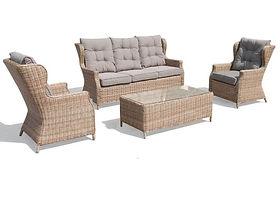 Buenos Aires (GCV1453V-4C) 4Pcs Outdoor Sofa Set online buy qld aus