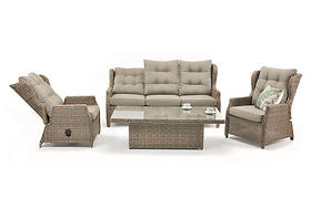 Buenos Aires Recliner Set (GCV18039V-4C) by online qld aus