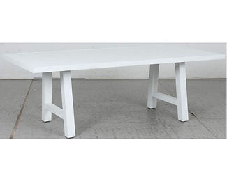 Switch Aluminium Dining Table with Trest