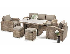 Miami 6 pcs Marina Outdoor Sofa Set buy online qld aus