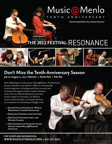10 Anniversary Festival Flyer