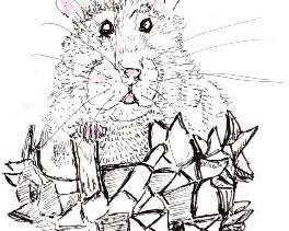 """Mr. Rat says """"Hello!"""""""
