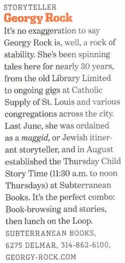 Saint Louis Magazine story 2010