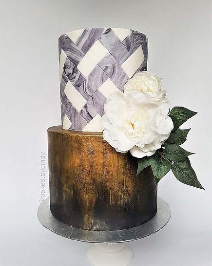 Gold Checkered Cake.jpg