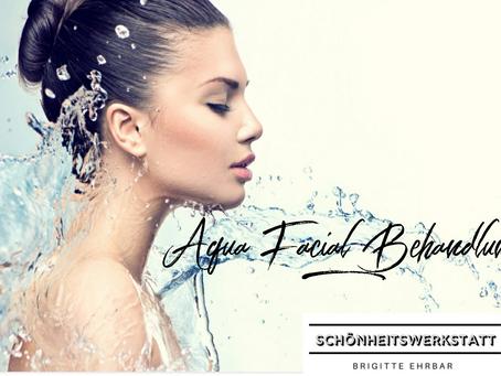 Aqua-Facial-Behandlung