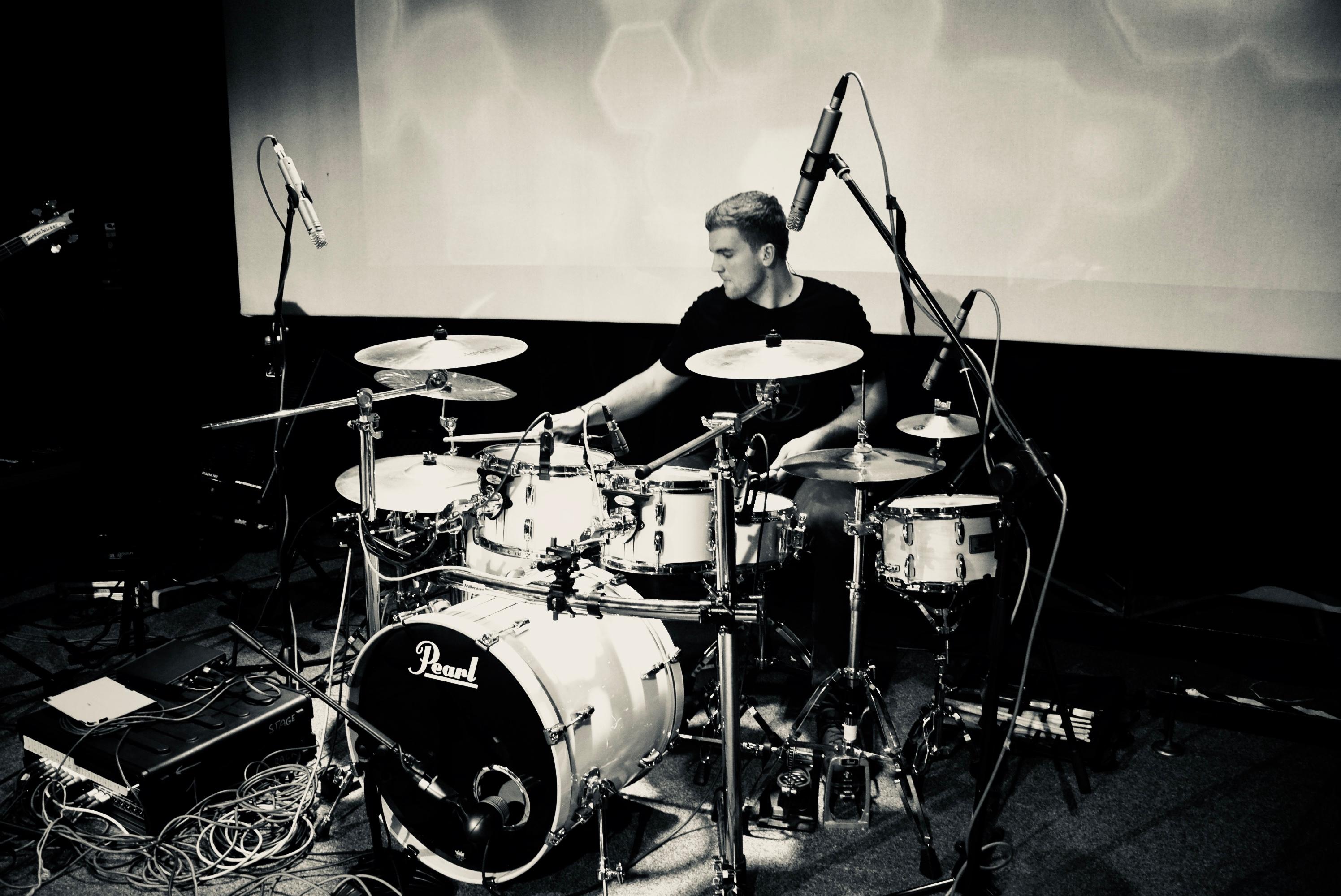 František Jiřík - bicí